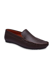 Fentacia Men Brown Loafers
