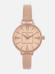 DressBerry Women Rose Gold-Toned Dial Watch MFBTMLDBE3