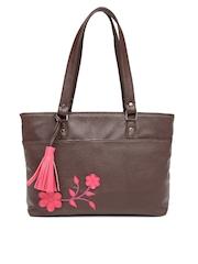 DressBerry Brown Shoulder Bag