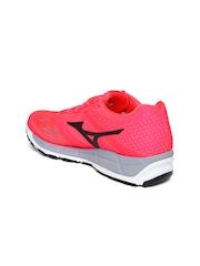 Mizuno Women Neon Pink Synchro MX Running Shoes