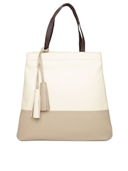 Mast & Harbour Beige Shoulder Bag
