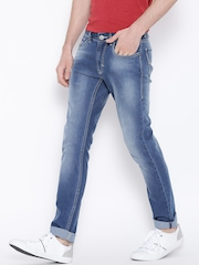 Flying Machine Blue Michael Slim Tapered Jeans