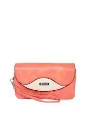 Lavie Peach-Coloured Purse