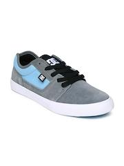 DC Men Grey & Light Blue Tonik Casual Shoes