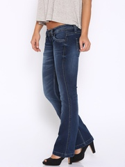Pepe Jeans Blue Bootcut Regular Fit Jeans