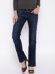Pepe Jeans Blue Boot Cut Jeans