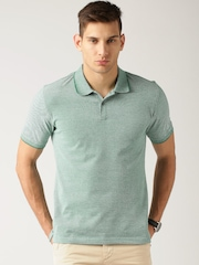 ETHER Green Polo T-shirt