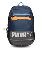 PUMA Unisex Teal Blue Backpack