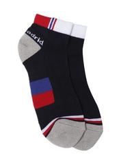 Real Madrid Men Navy Padded Ankle-Length Running Socks