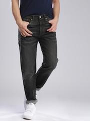 Levis Charcoal Grey Jeans 501