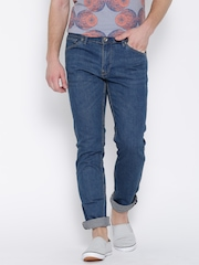 H.E. by Mango Blue Jan Slim Jeans