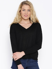 MANGO Black Sweater