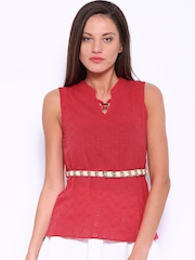 Deal Jeans Red Top