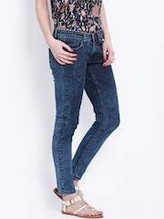 Tokyo Talkies Blue Acid Wash Jeans