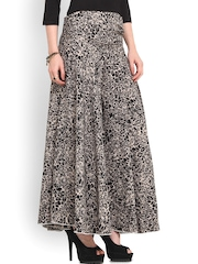 Trend Arrest Black Printed Palazzo Trousers