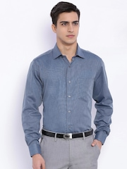 Van Heusen Blue Slim Fit Formal Shirt