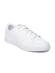 Adidas NEO Women White Leather Casual Shoes