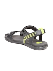 Adidas Men Black HEWIS Sports Sandals