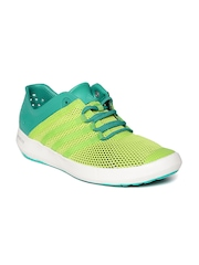 Adidas Unisex Green Climacool Boat Pure Outdoor Shoes