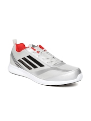 Adidas Men Silver-Toned ADIRAY Running Shoes