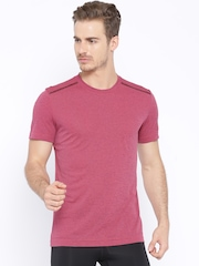 Adidas Pink Climachill Slim Fit T-shirt
