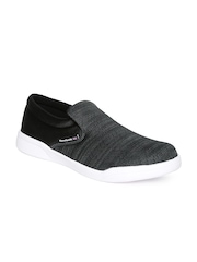 Reebok Classic Men Charcoal Grey Court Slip-Ons