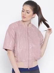 Adidas Stella McCartney Dusty Pink STU Panelled Track Jacket