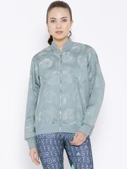 Stella McCartney by Adidas Grey Printed Yo Flower Jacket