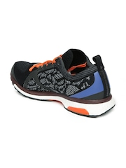 Adidas by Stella McCartney Women Black & Orange Adizero Adios Running Shoes