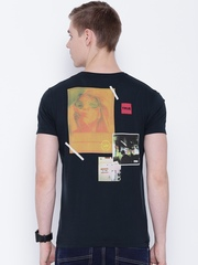 Lee Navy Printed Back T-shirt
