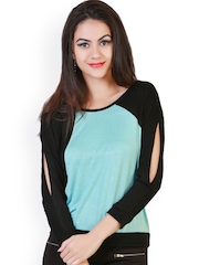 Belle Fille Black & Blue Top