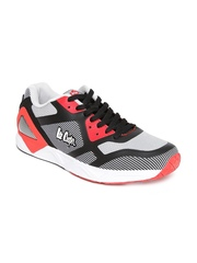 Lee Cooper Men Black & Red Sports Shoes 3580