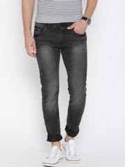 Wrangler Charcoal Grey Vegas Skinny Tough Gear Jeans
