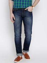 Wrangler Blue Greensboro Fit Water Repellant Jeans