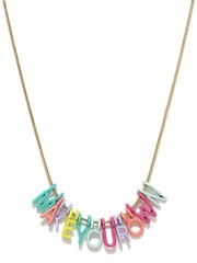 Accessorize Multicoloured Pendant Necklace