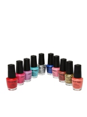 Colorbar USA Around The World Set of 10 Nail Polishes