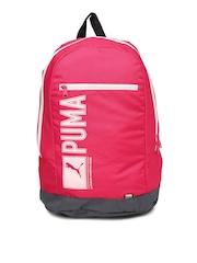 PUMA Unisex Pink Pioneer Backpack