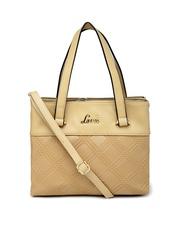 Lavie Beige Small Handbag