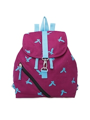 Be for Bag Women Purple Printed Vella Backpack