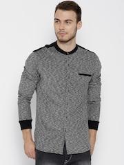 Status Quo Grey Casual Shirt