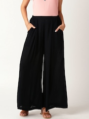 All About You from Deepika Padukone Black Palazzo Trousers