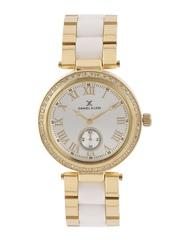 Daniel Klein Women Silver-Toned Dial Watch DK10801-1