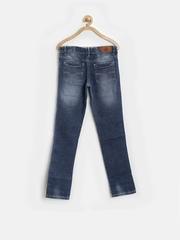 UFO Girls Blue Slim Jeans