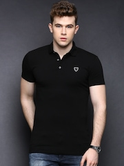 Antony Morato Black Polo T-shirt