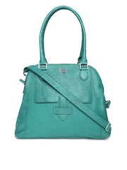 Baggit Teal Green Shoulder Bag with Sling Strap