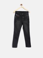Palm Tree by Gini & Jony Boys Black Washed Jeans