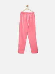Palm Tree by Gini & Jony Girls Pink Track Pants
