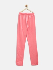 Palm Tree by Gini & Jony Girls Pink Track Pants