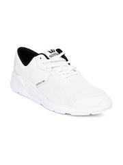Supra Men White Noiz Sneakers