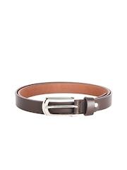 WildHorn Women Brown Leather Belt